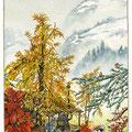 Premières neiges sur les cimes de Shazenrazen