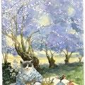 Sous les cerisiers en fleur ( VENDU )