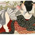 Petit homage au grand Utamaro