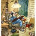 Plaisir de la lecture (VENDU)