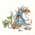 La saison du jardinage est lancée (VENDU)