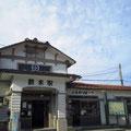 昭和の面影を残す鶴来駅