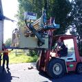 Mise en place des machines à bois
