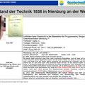 Stand der Technik 1838 in Nienburg