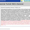 Stand der Technik 1842 in Hannover Teil 2