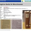 Quelle für Münchhausen