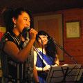 響きが良くて、集中して歌えました。