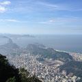 リオデジャネイロの風景を見下ろしながら...また戻って来ることを誓いました!