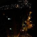今回は小さなアパートに滞在しました。 窓から見えるファヴェーラの明かりが星のように輝いていました。