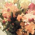 初KingsBarのお祝いにいただいた花束!お花の香に癒されました。。。