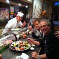 平塚和食料理「いしけん」さんにて。 今井くん、今回は色々と助けていただいて、ありがとうございました。。。