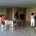 最終日の日曜日、Celsinho宅での昼食に参加させていただきました!