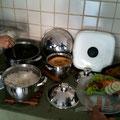 食べ納めのブラジル家庭料理...