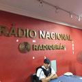 ラジオ・ナショナルの入口。 歴史を感じます。。。