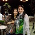 カレンちゃん。 日本から遠く離れたリオで初めて会うなんて。。。なんだかご縁を感じます。 彼女には元気とチャレンジすることへの勇気をもらいました...!