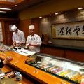 もっきりやの翌日は金沢のお鮨やさんに行きました!