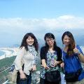 麻里さん、智子さんと♪ 智子ちゃん、この日『正露丸』ありがとう...><おかげで無事観光できたっす...