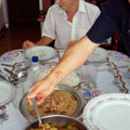 Jorginhoのおうちで昼食♪