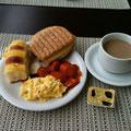Rioのホテルでほぼ毎日お世話になった朝食! 美味しかったなぁ...