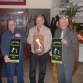 von links:Manfred Amenda, Zfr. Bartels, Sieger offenen Klasse, Helmut Amenda, Foto: Bartels
