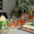 """Déco de table """"Pâques"""" - Réalisation 2010"""