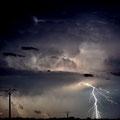 Orage - Pamproux - Juillet 11 © Florian Bernier