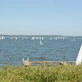 """Die """"Große Breite"""" - das Segelrevier, das Sie auf dem Schiff Richtung Ostsee durchfahren."""