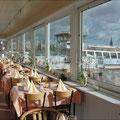 """Unser """"Panorama-Garten"""" bietet immer einen weiten Blick über die Schlei - zu jeder Jahreszeit!"""