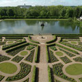 "Der ""Barockgarten"", ein Juwel der Vergangenheit, hinter dem Schloss neu erbaut nach historischen Plänen."