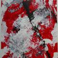 ohne Titel, 2017, Acryl auf Papier, 40*30 (2017/009)