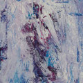ohne Titel, 2019, Acryl auf Papier, 40x30