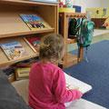 In der Bücherecke