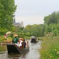 Découverte des hortillonnages en barque à cornet, Amiens, Somme