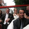 Michel (mit Braut:-), vorne Alf 2007 in Hamburg
