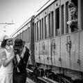 Foto di Fabio Berg, la ragazza accanto alla crocerossina è la costumista Yvonne Vionnet