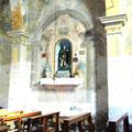 San Rocco - la Chiesa (altare dedicato a San Rocco)