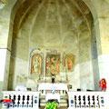 San Rocco - la Chiesa (l'altare)