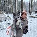 5 1/2 Monate - Spaziergang im Treisberger Winterwald
