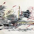 """41 / MARIA LUISA PANCINO, """"PENSIERO IN EVOLUZIONE 1"""", 30 x 20 cm."""