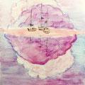 """50 / RAFFAELA ZAMBRANO, """"OLTRE IL SOGNO"""", 20 x 30 cm."""