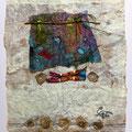 "42 / TERESA PEREYRA, ""AMULETO MAPUCCE"", 20 x 30 cm."