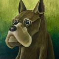 "18 / MORENO GASPARETTO, ""THE DOG"", 20 x 30 cm."