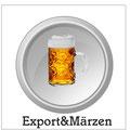 Märzen: Untergäriges Bier mit einem Stammwürzegehalt von mindestens 13 Prozent. Vollmundig, malzaromatisch, gering hopfenbitter. Farbe goldgelb bis etwas dunkler. Märzenbier wurde früher im März eingebraut und sollte den Sommer über halten.