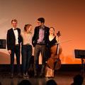 Milan, Hannah, Finn und Fiona