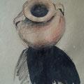 zonder titel 2011, kleurpotlood en inkt op papier, 40x60cm