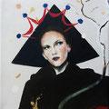 Koningin 2019, olieverf op linnen, 18x24cm, prijs 300,00e