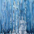 Witte dame 2019, acryl op canvas, 60x120cm