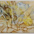 Alentejan colours -  acryl and sand on canvas - 30 x 40 cm