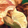 La ceniza que cubre las huellas, 2007, óleo sobre lienzo, 60x195 cm