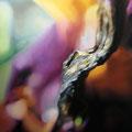 Tallo de sombra, 2006, óleo sobre lienzo, 200x150 cm